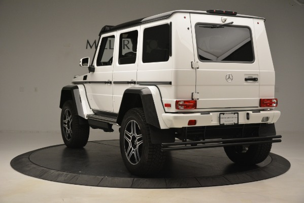 Used 2018 Mercedes-Benz G-Class G 550 4x4 Squared for sale Sold at Bentley Greenwich in Greenwich CT 06830 5
