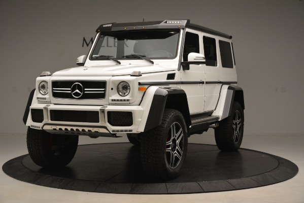 Used 2018 Mercedes-Benz G-Class G 550 4x4 Squared for sale Sold at Bentley Greenwich in Greenwich CT 06830 1