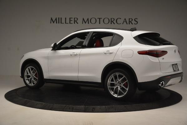 New 2019 Alfa Romeo Stelvio Ti Sport Q4 for sale Sold at Bentley Greenwich in Greenwich CT 06830 4