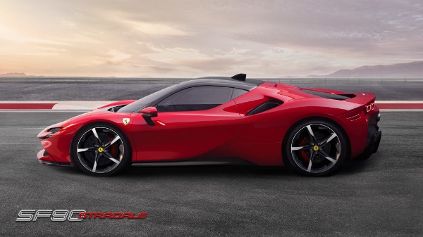 New 2021 Ferrari SF90 Stradale for sale Call for price at Bentley Greenwich in Greenwich CT 06830 3