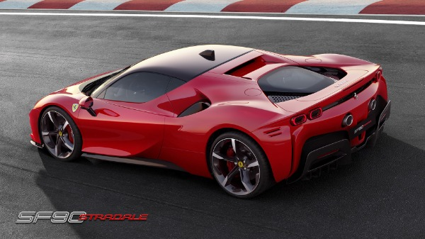 New 2021 Ferrari SF90 Stradale for sale Call for price at Bentley Greenwich in Greenwich CT 06830 4