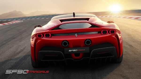 New 2021 Ferrari SF90 Stradale for sale Call for price at Bentley Greenwich in Greenwich CT 06830 5