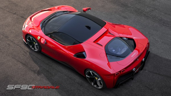 New 2021 Ferrari SF90 Stradale for sale Call for price at Bentley Greenwich in Greenwich CT 06830 6