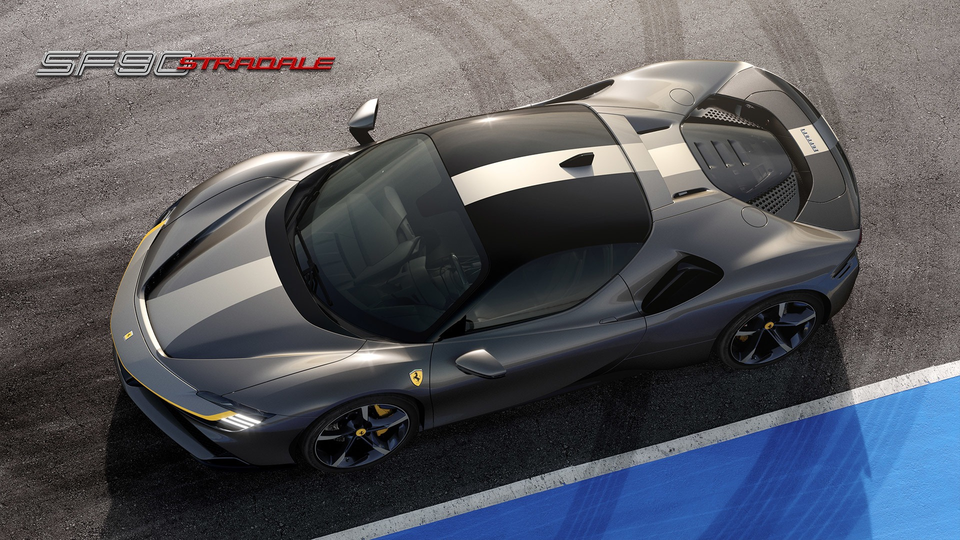 New 2021 Ferrari SF90 Stradale for sale Call for price at Bentley Greenwich in Greenwich CT 06830 1