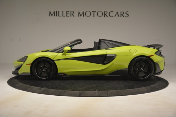 New 2020 McLaren 600LT SPIDER Convertible for sale $281,570 at Bentley Greenwich in Greenwich CT 06830 10