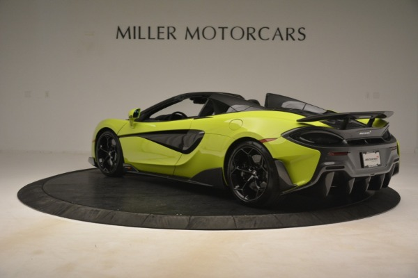 New 2020 McLaren 600LT SPIDER Convertible for sale $281,570 at Bentley Greenwich in Greenwich CT 06830 11