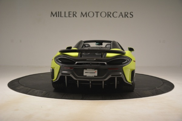 New 2020 McLaren 600LT SPIDER Convertible for sale $281,570 at Bentley Greenwich in Greenwich CT 06830 12