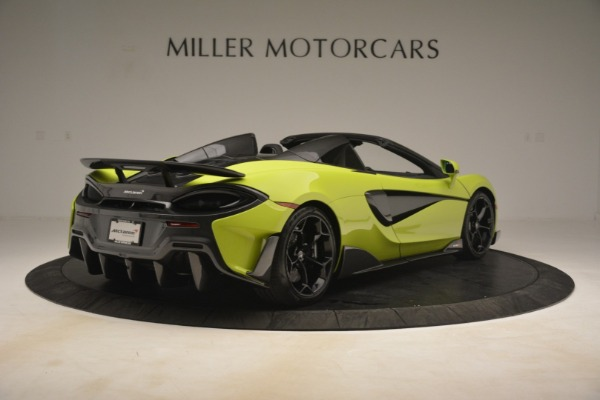 New 2020 McLaren 600LT SPIDER Convertible for sale $281,570 at Bentley Greenwich in Greenwich CT 06830 13