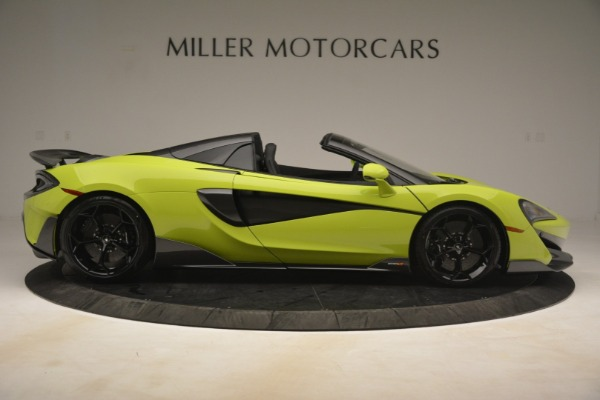 New 2020 McLaren 600LT Spider for sale Call for price at Bentley Greenwich in Greenwich CT 06830 14