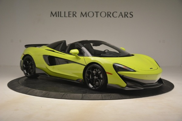 New 2020 McLaren 600LT SPIDER Convertible for sale $281,570 at Bentley Greenwich in Greenwich CT 06830 15