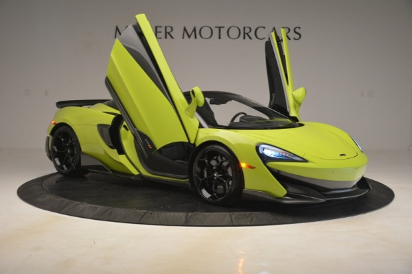New 2020 McLaren 600LT Spider for sale Call for price at Bentley Greenwich in Greenwich CT 06830 16