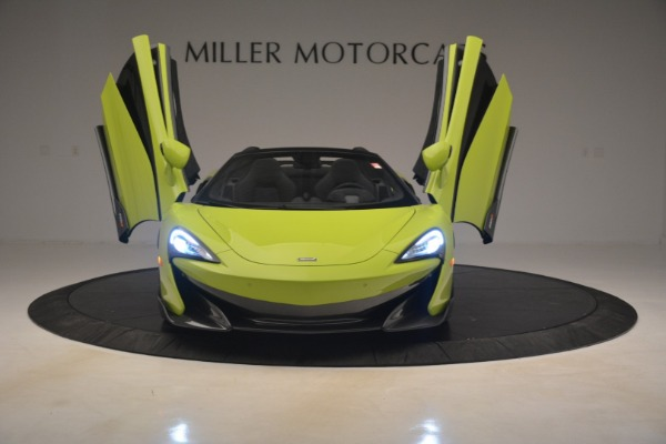 New 2020 McLaren 600LT SPIDER Convertible for sale $281,570 at Bentley Greenwich in Greenwich CT 06830 17