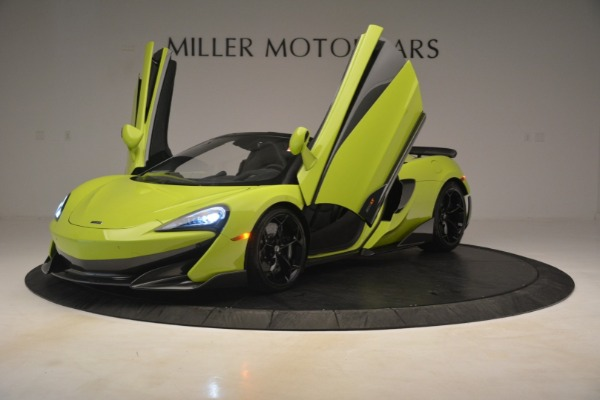 New 2020 McLaren 600LT Spider for sale Call for price at Bentley Greenwich in Greenwich CT 06830 18
