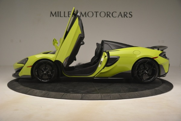 New 2020 McLaren 600LT SPIDER Convertible for sale $281,570 at Bentley Greenwich in Greenwich CT 06830 19