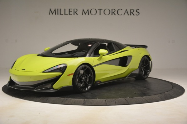 New 2020 McLaren 600LT Spider for sale Call for price at Bentley Greenwich in Greenwich CT 06830 2