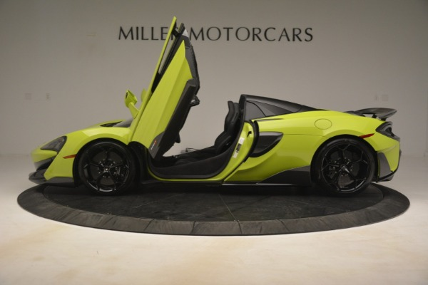 New 2020 McLaren 600LT Spider for sale Call for price at Bentley Greenwich in Greenwich CT 06830 20
