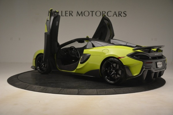 New 2020 McLaren 600LT Spider for sale Call for price at Bentley Greenwich in Greenwich CT 06830 21
