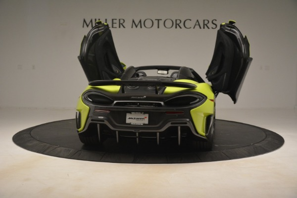 New 2020 McLaren 600LT Spider for sale Call for price at Bentley Greenwich in Greenwich CT 06830 22