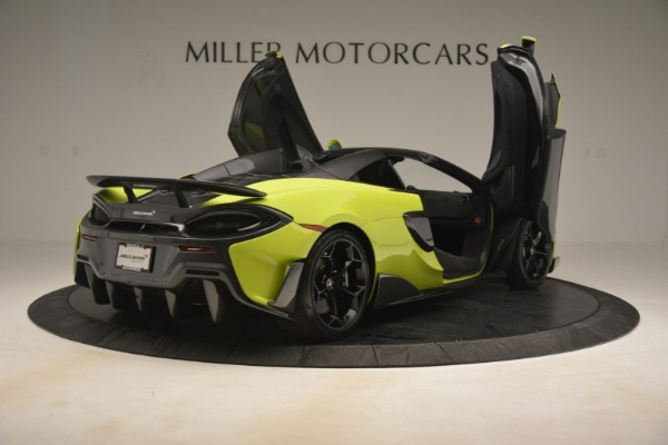 New 2020 McLaren 600LT Spider for sale Call for price at Bentley Greenwich in Greenwich CT 06830 23