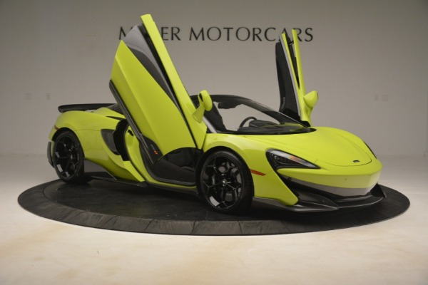 New 2020 McLaren 600LT Spider for sale Call for price at Bentley Greenwich in Greenwich CT 06830 25