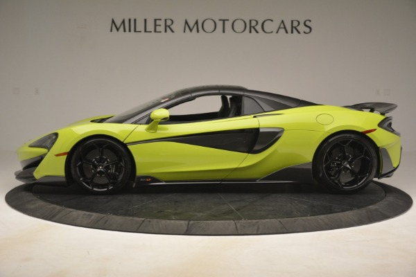 New 2020 McLaren 600LT Spider for sale Call for price at Bentley Greenwich in Greenwich CT 06830 3