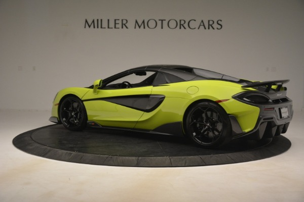 New 2020 McLaren 600LT Spider for sale Call for price at Bentley Greenwich in Greenwich CT 06830 4