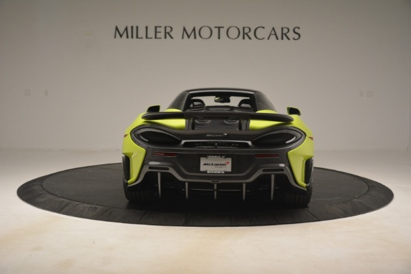 New 2020 McLaren 600LT Spider for sale Call for price at Bentley Greenwich in Greenwich CT 06830 5
