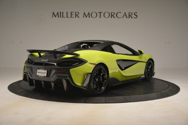 New 2020 McLaren 600LT SPIDER Convertible for sale $281,570 at Bentley Greenwich in Greenwich CT 06830 6