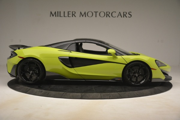 New 2020 McLaren 600LT SPIDER Convertible for sale $281,570 at Bentley Greenwich in Greenwich CT 06830 7