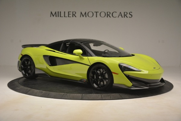New 2020 McLaren 600LT SPIDER Convertible for sale $281,570 at Bentley Greenwich in Greenwich CT 06830 8