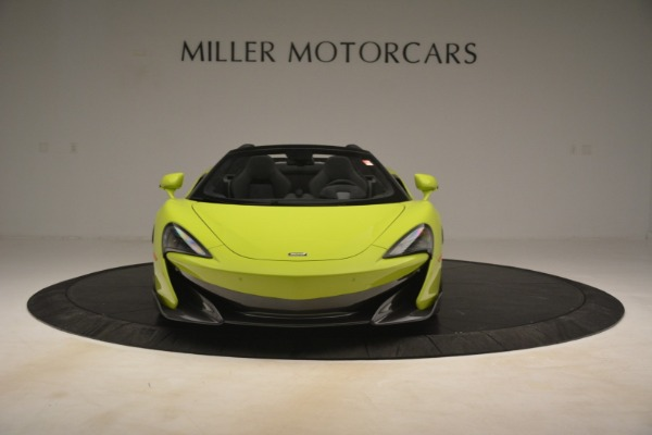 New 2020 McLaren 600LT Spider for sale Call for price at Bentley Greenwich in Greenwich CT 06830 9