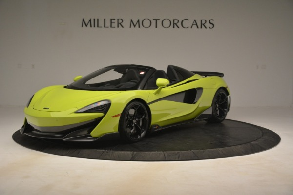 New 2020 McLaren 600LT Spider for sale Call for price at Bentley Greenwich in Greenwich CT 06830 1