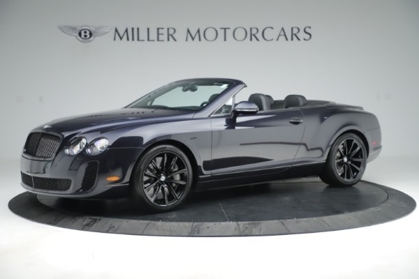 Used 2012 Bentley Continental GT Supersports for sale Sold at Bentley Greenwich in Greenwich CT 06830 2
