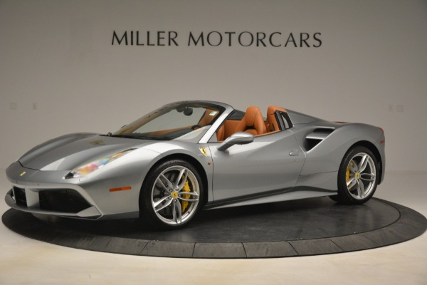 Used 2019 Ferrari 488 Spider for sale Sold at Bentley Greenwich in Greenwich CT 06830 2
