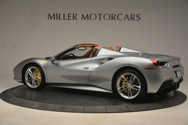Used 2019 Ferrari 488 Spider for sale Sold at Bentley Greenwich in Greenwich CT 06830 4