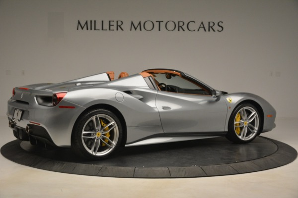 Used 2019 Ferrari 488 Spider for sale Sold at Bentley Greenwich in Greenwich CT 06830 8