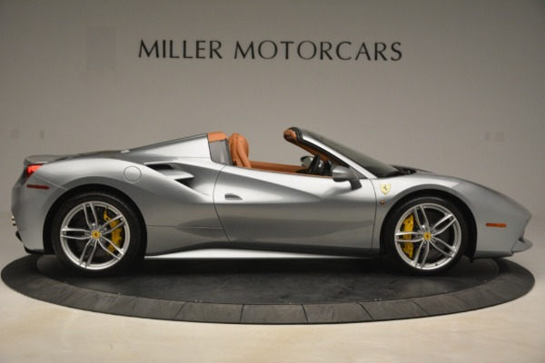 Used 2019 Ferrari 488 Spider for sale Sold at Bentley Greenwich in Greenwich CT 06830 9