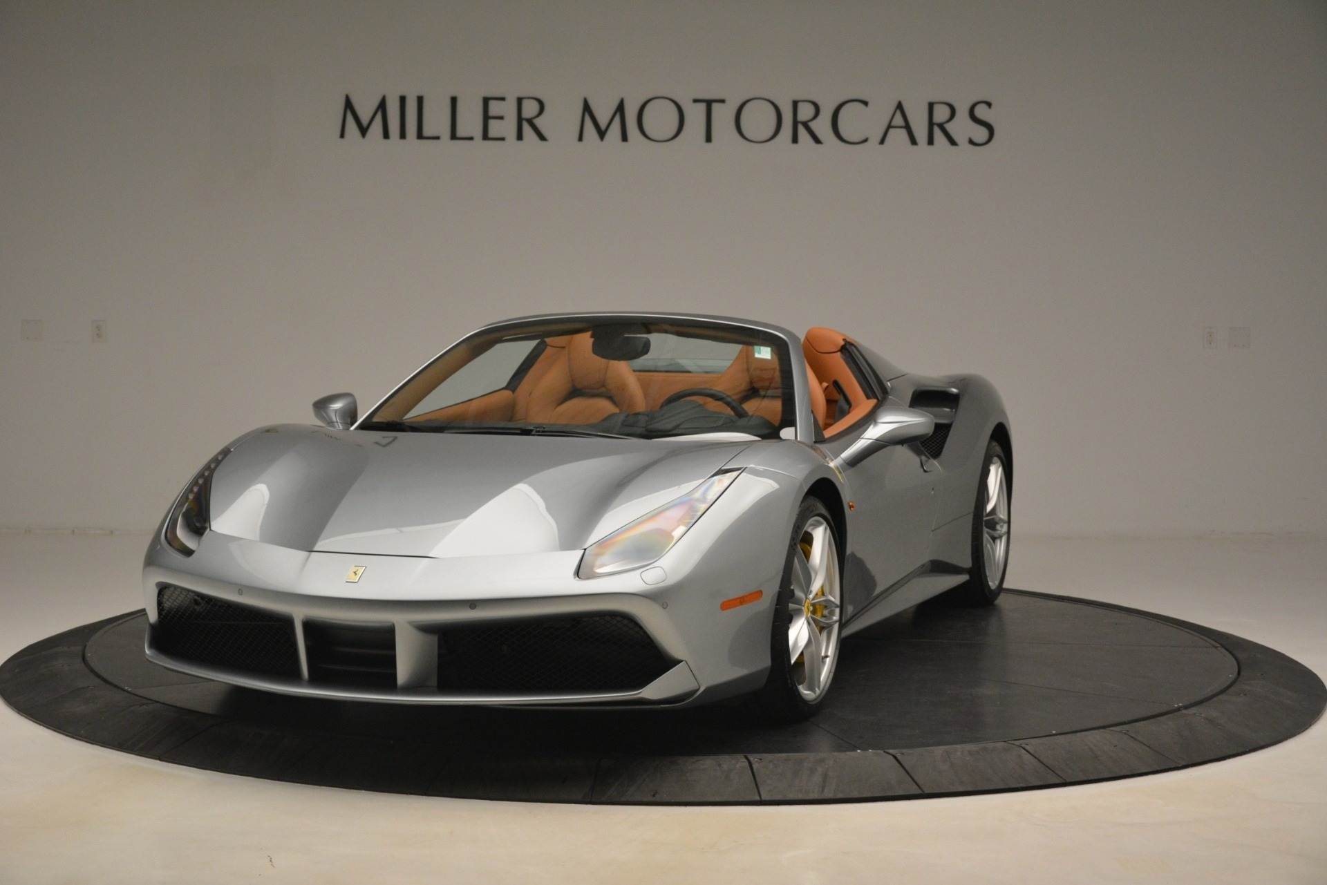Used 2019 Ferrari 488 Spider for sale Sold at Bentley Greenwich in Greenwich CT 06830 1
