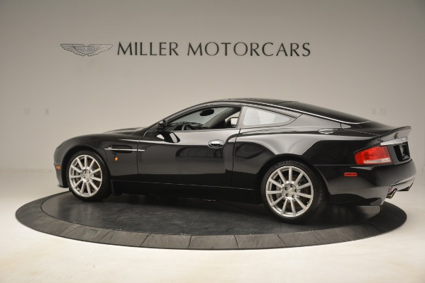 Used 2005 Aston Martin V12 Vanquish S Coupe for sale Sold at Bentley Greenwich in Greenwich CT 06830 4