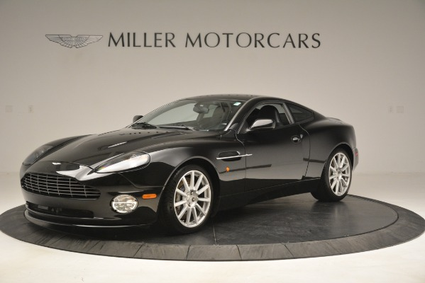 Used 2005 Aston Martin V12 Vanquish S Coupe for sale Sold at Bentley Greenwich in Greenwich CT 06830 1
