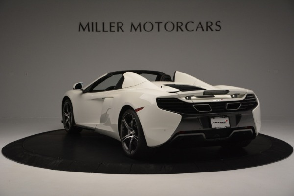 Used 2015 McLaren 650S Convertible for sale Sold at Bentley Greenwich in Greenwich CT 06830 4