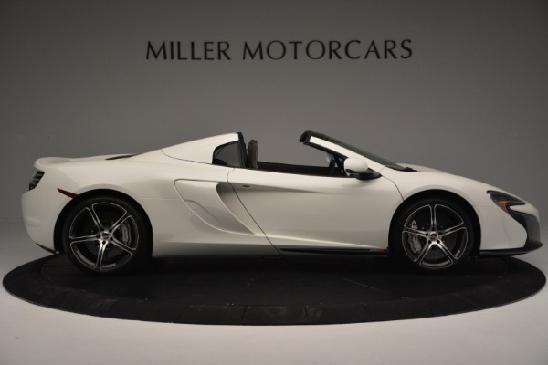 Used 2015 McLaren 650S Convertible for sale Sold at Bentley Greenwich in Greenwich CT 06830 8