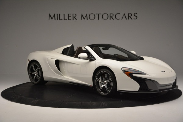 Used 2015 McLaren 650S Convertible for sale Sold at Bentley Greenwich in Greenwich CT 06830 9