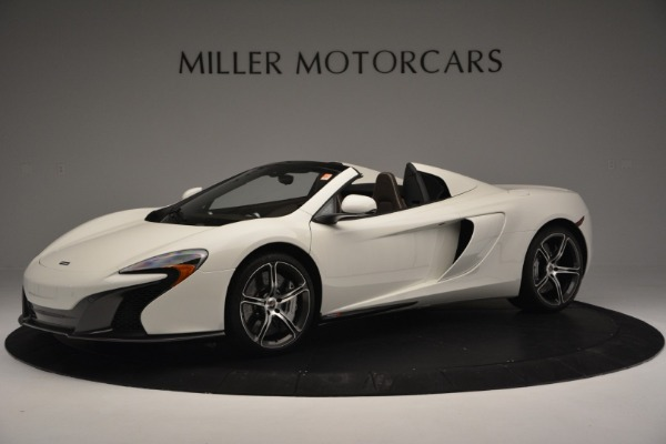 Used 2015 McLaren 650S Convertible for sale Sold at Bentley Greenwich in Greenwich CT 06830 1