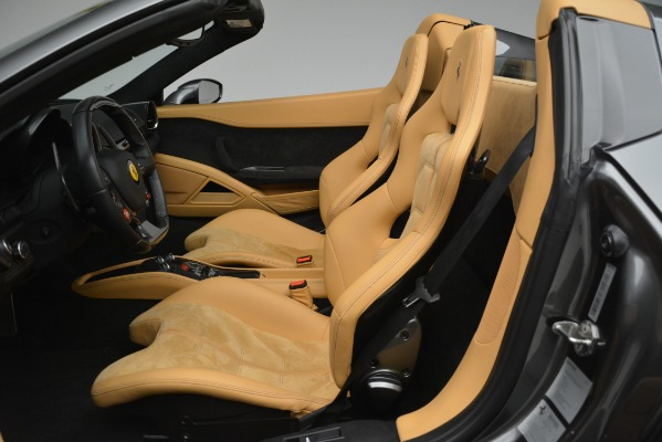 Used 2013 Ferrari 458 Spider for sale Sold at Bentley Greenwich in Greenwich CT 06830 18