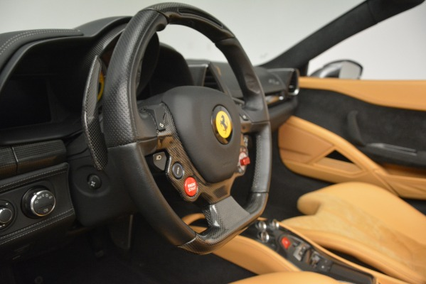 Used 2013 Ferrari 458 Spider for sale Sold at Bentley Greenwich in Greenwich CT 06830 23