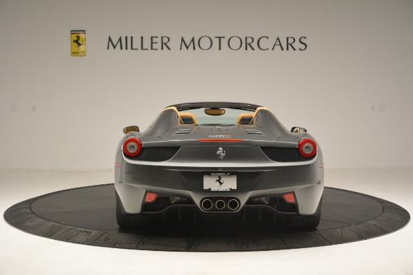 Used 2013 Ferrari 458 Spider for sale Sold at Bentley Greenwich in Greenwich CT 06830 7