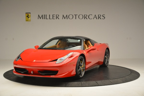 Used 2015 Ferrari 458 Spider for sale Sold at Bentley Greenwich in Greenwich CT 06830 14