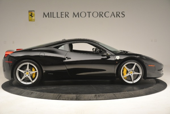 Used 2011 Ferrari 458 Italia for sale Sold at Bentley Greenwich in Greenwich CT 06830 9