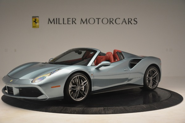 Used 2017 Ferrari 488 Spider for sale Sold at Bentley Greenwich in Greenwich CT 06830 2